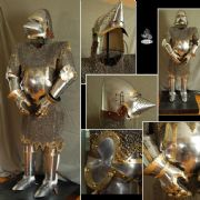 Armour of Churburg 16 & 14 Gauge Steel Fully Articulated